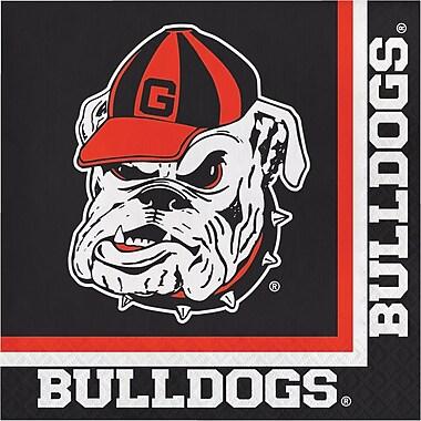 NCAA University of Georgia Napkins 20 pk (664699)
