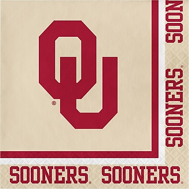 NCAA University of Oklahoma Napkins 20 pk (664844)