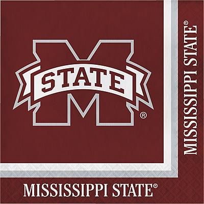 NCAA Mississippi State University Napkins 20 pk (664094)