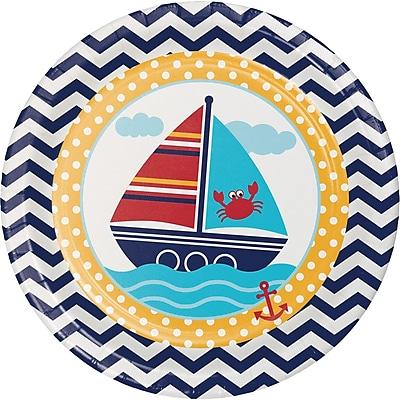 Creative Converting Ahoy Matey Nautical Paper Plates 8 pk (427226) 2677027