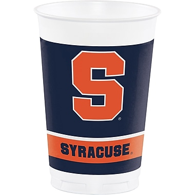 NCAA Syracuse University Plastic Cups 8 pk (318306)