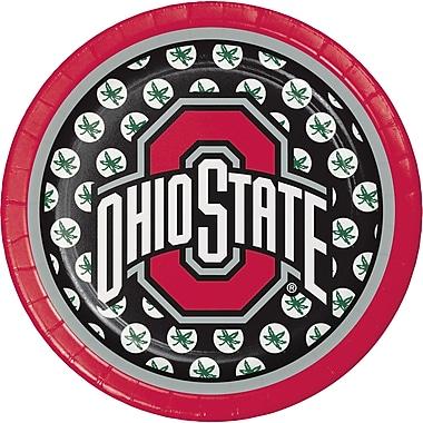 NCAA Ohio State University Dessert Plates 8 pk (318565)