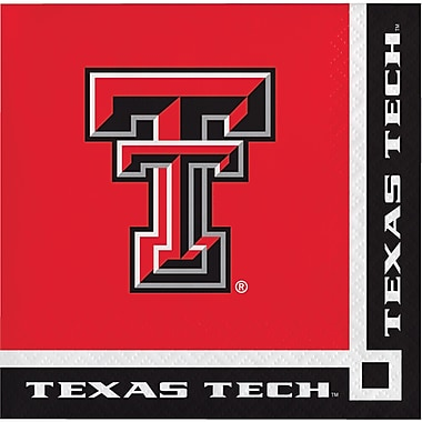 NCAA Texas Tech University Beverage Napkins 20 pk (654891)