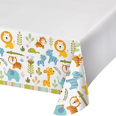 Creative Converting Happy Jungle Plastic Tablecloth (324593)