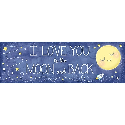 Creative Converting To the Moon and Back Giant Party Banner (322272)