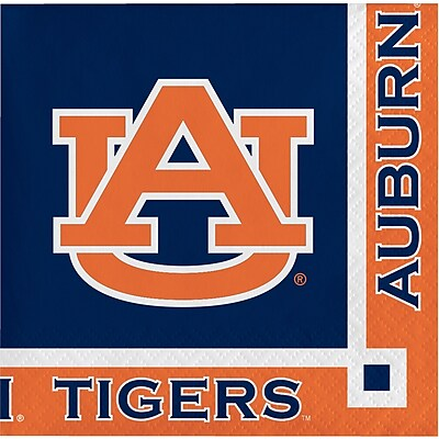 NCAA Auburn University Beverage Napkins 20 pk (654830)
