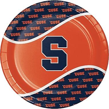 NCAA Syracuse University Paper Plates 8 pk (318302)