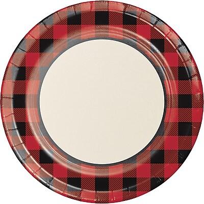 Creative Converting Buffalo Plaid Banquet Plate 8 pk (321826)