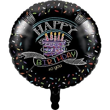 Creative Converting Chalk Birthday Mylar Balloon (045971)