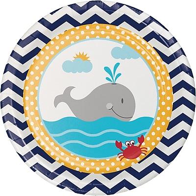 Creative Converting Ahoy Matey Nautical Dessert Plates 8 pk (417226) 2677028