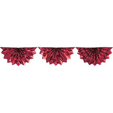 Creative Converting Red Foil Bunting (030074)