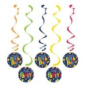Creative Converting Geo-Pop Birthday Danglers 5 pk (324638)