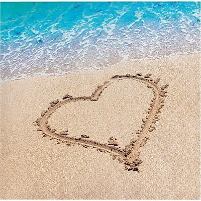 Creative Converting Beach Love Beverage Napkins 16 pk (657363)