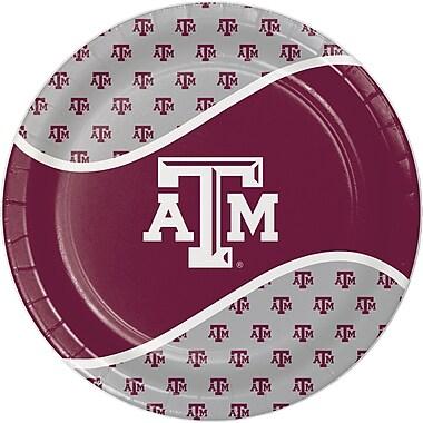 NCAA Texas A and M University Paper Plates 8 pk (424848)