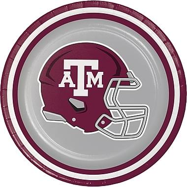NCAA Texas A and M University Dessert Plates 8 pk (410848)