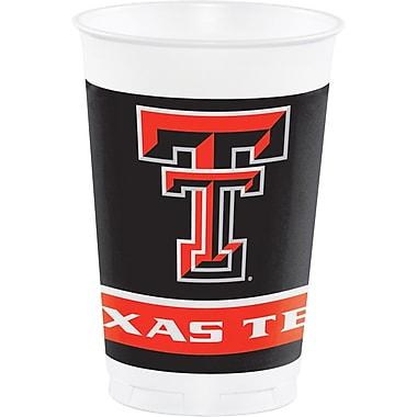 NCAA Texas Tech University Plastic Cups 8 pk (374891)