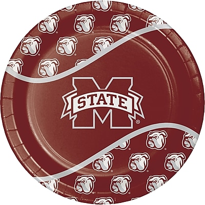 NCAA Mississippi State University Paper Plates 8 pk (424094)
