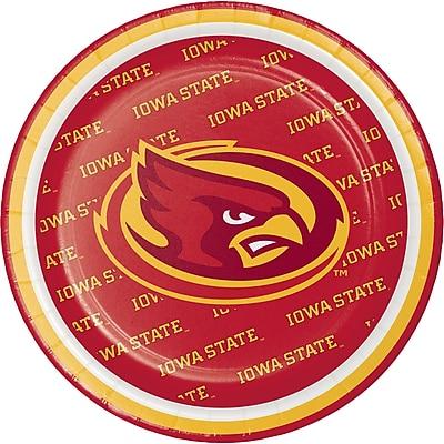 NCAA Iowa State University Dessert Plates 8 pk (414701)