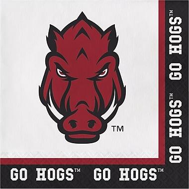 NCAA University of Arkansas Napkins 20 pk (669855)