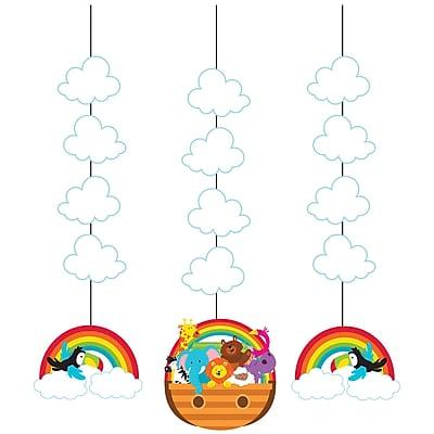 Creative Converting Noah's Ark Hanging Cutouts 3 pk (317674)