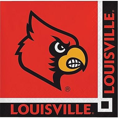 NCAA University of Louisville Beverage Napkins 20 pk (654760)