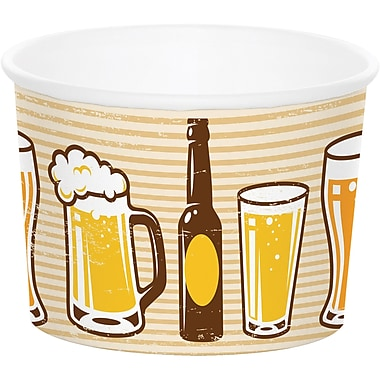 Creative Converting Cheers and Beers Treat Cups 6 pk (325081)