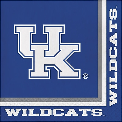 NCAA University of Kentucky Napkins 20 pk (324857)