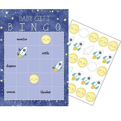 Creative Converting To the Moon and Back Bingo 10 pk (322275)