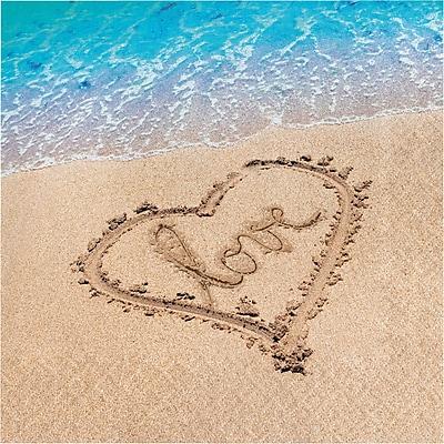 Creative Converting Beach Love Napkins 16 pk (667363)