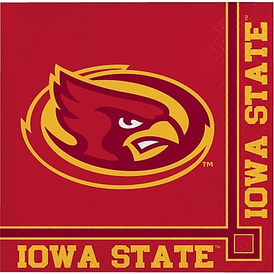 NCAA Iowa State University Beverage Napkins 20 pk (654701)