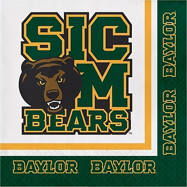 NCAA Baylor University Napkins 20 pk (664352)