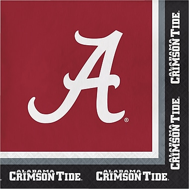 NCAA University of Alabama Napkins 20 pk (660697)