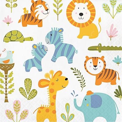 Creative Converting Happy Jungle Napkins 16 pk (324582)