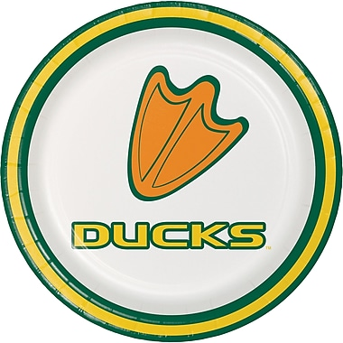 NCAA University of Oregon Dessert Plates 8 pk (419907)