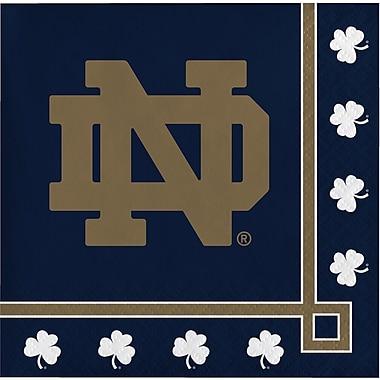 NCAA University of Notre Dame Beverage Napkins 20 pk (654842)