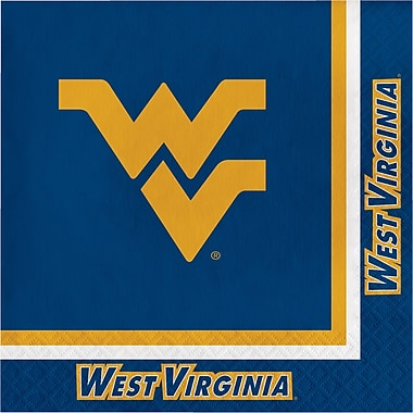 NCAA West Virginia University Napkins 20 pk (664895)