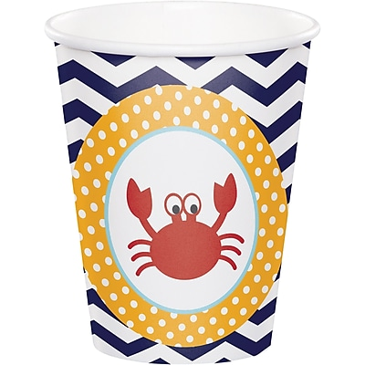 Creative Converting Ahoy Matey Nautical Cups 8 pk (377226) 2677034