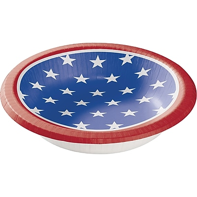 Creative Converting Stars and Strips Paper Bowls 8 pk (319424)