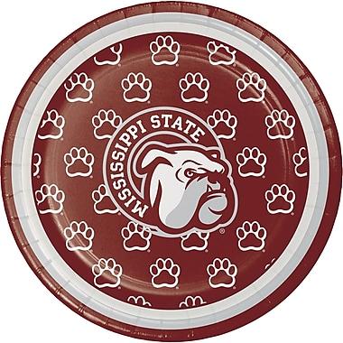 NCAA Mississippi State University Dessert Plates 8 pk (414094)