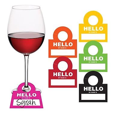 Creative Converting Sip Sip Hooray Wine Drinktag 12 pk (325094)