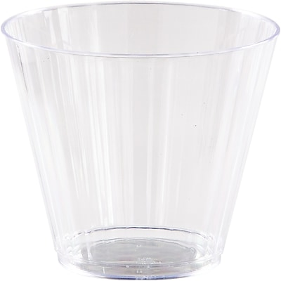 Creative Converting Clear Plastic Glasses, 9 oz 8 pk (44554)