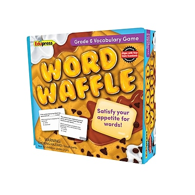 Teacher Created Resources Word Waffle Game, Grade 6 (EP-2097)