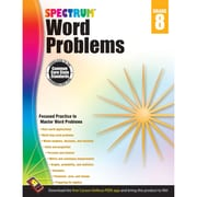 Carson-Dellosa Spectrum Word Problems Workbook, Grade 8 (CD-704494)