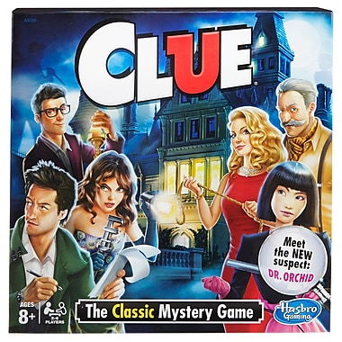 Hasbro Clue Game (HG-A5826)
