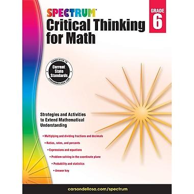Carson-Dellosa Critical Thinking for Math, Grade 6 (CD-705118)