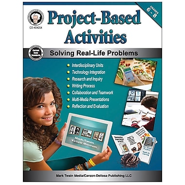 Carson-Dellosa Project-Based Activities, Grades 6-8 (CD-404254)