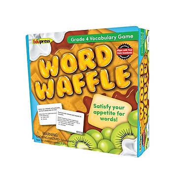 Teacher Created Resources Word Waffle Game, Grade 4 (EP-2095)