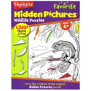 Highlights Favorite Hidden Pictures - Wildlife Puzzles (ELP091770)