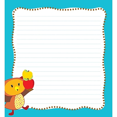 Fall Fun Notepad, 50 Sheets Per Pad, Bundle of 6