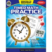 Teacher Created Resources Minutes to Mastery - Timed Math Practice Grade 1 (TCR8079)